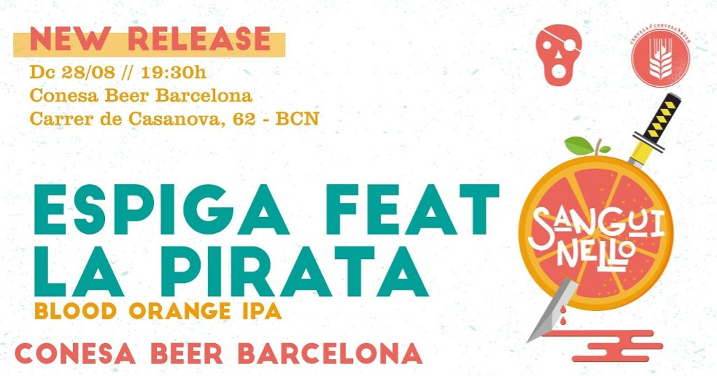 NEW-RELEASE-ESPIGA -FEAT -LA- PIRATA